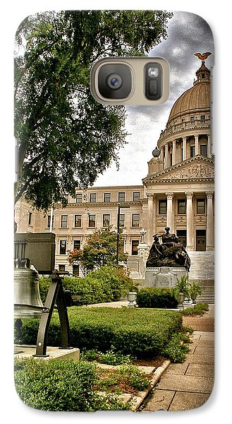 Galaxy Case featuring the photograph Mississippi State Capitol by Jim Albritton