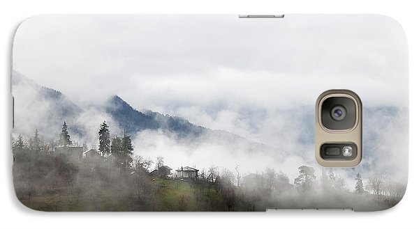 Galaxy Case featuring the photograph Mist by Gouzel -