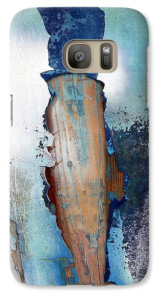 Galaxy Case featuring the photograph Mister Blue by Robert Riordan