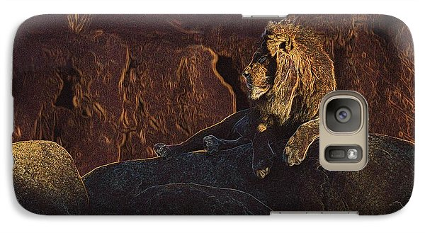 Galaxy Case featuring the photograph Mister Majestic by David Andersen