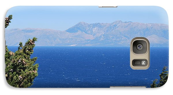 Galaxy Case featuring the photograph Mistral Wind by George Katechis