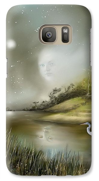 Galaxy Case featuring the painting Mistress Of The Glade by S G
