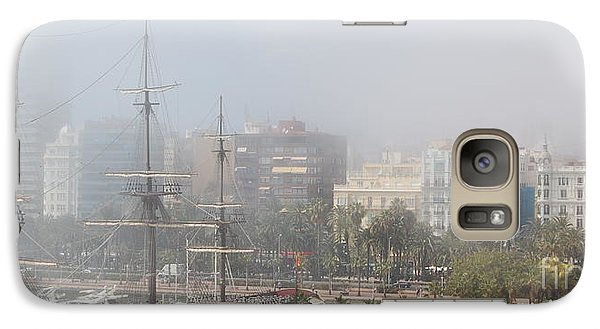 Galaxy Case featuring the photograph Misty Alicante by Linda Prewer