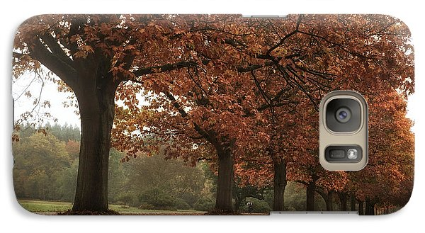 Galaxy Case featuring the photograph Misty Colours Of Autumn by Shirley Mitchell