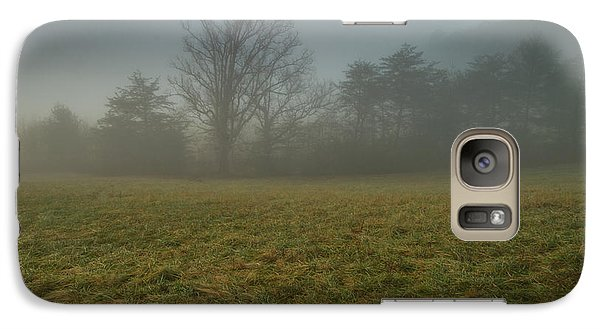 Galaxy Case featuring the photograph Misty Morning - Cades Cove by Doug McPherson