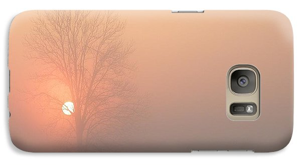 Galaxy Case featuring the photograph Misty Morning by Carlee Ojeda