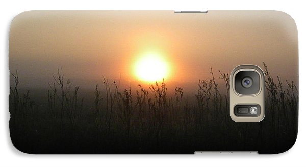Galaxy Case featuring the photograph Misty Morning by James Petersen