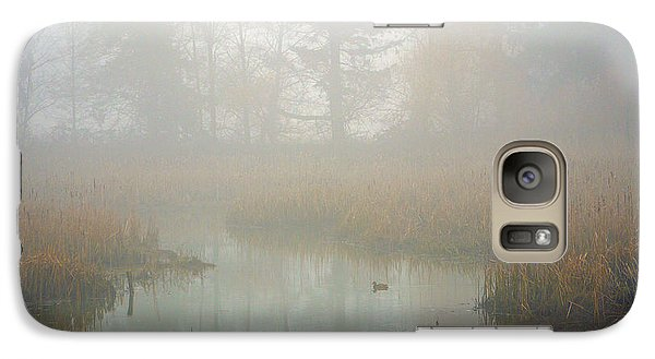Galaxy Case featuring the photograph Misty Morning by Jordan Blackstone