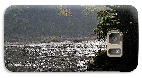 Galaxy Case featuring the photograph Misty Morning by Kay Novy