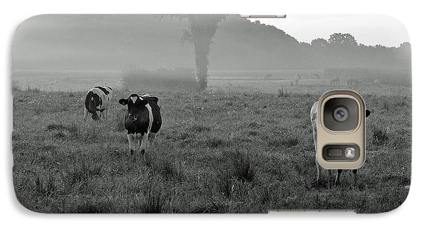 Galaxy Case featuring the photograph Misty Morning by Lila Fisher-Wenzel