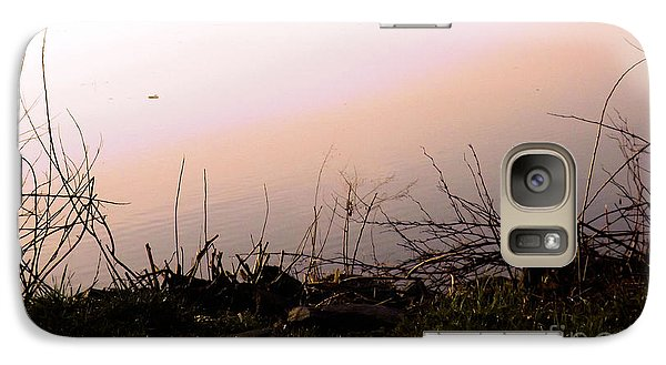 Galaxy Case featuring the photograph Misty Morning by Robyn King