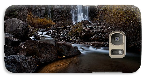 Galaxy Case featuring the photograph Misty Run by Steven Reed