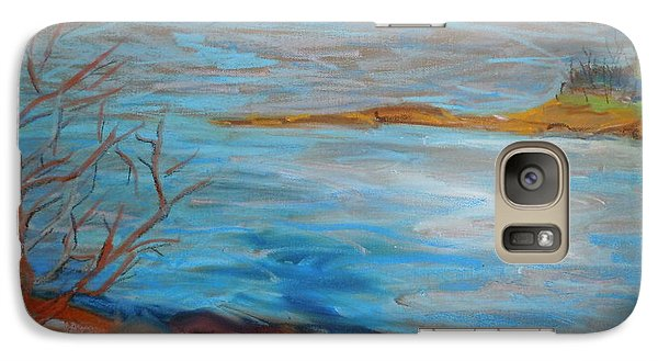 Galaxy Case featuring the painting Misty Surry by Francine Frank