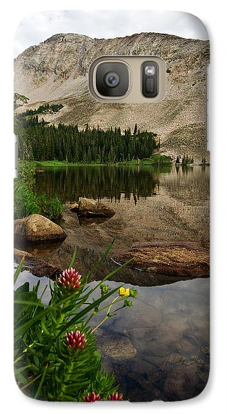 Galaxy Case featuring the photograph Mitchell Lake Reflections by Ronda Kimbrow