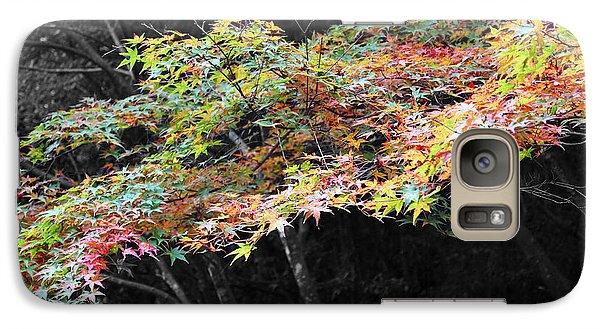 Galaxy Case featuring the photograph Miyajima Maple by Cassandra Buckley