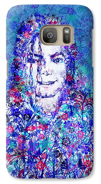 Mj Floral Version 2 Galaxy S7 Case