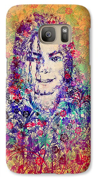 Mj Floral Version 3 Galaxy S7 Case