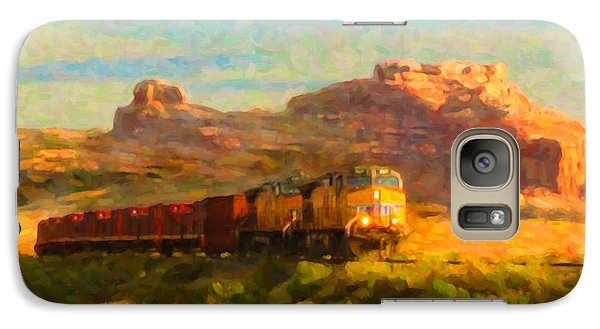 Galaxy Case featuring the digital art Moab Morning by Chuck Mountain