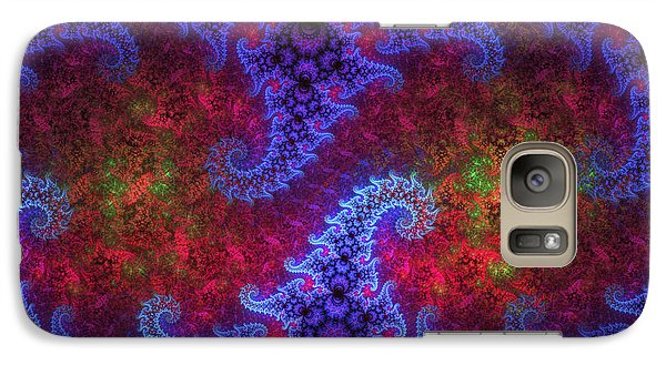 Galaxy Case featuring the digital art Mobius Unleashed by GJ Blackman