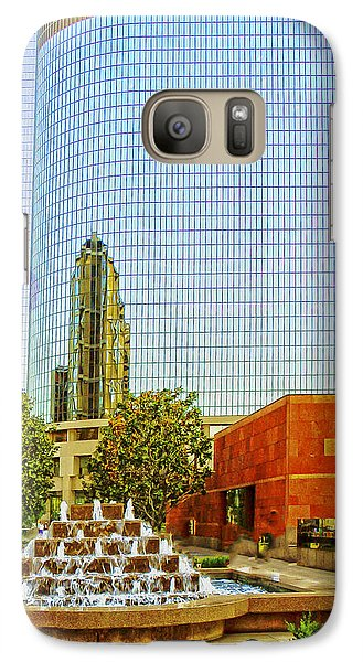 Galaxy Case featuring the photograph Moca Plaza by Joseph Hollingsworth