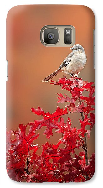 Mockingbird Galaxy S7 Case - Mockingbird Autumn by Bill Wakeley