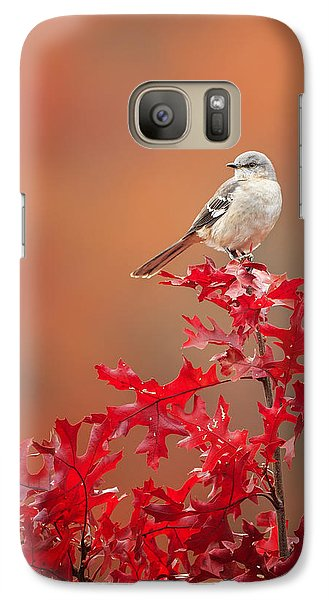 Mockingbird Autumn Galaxy S7 Case by Bill Wakeley