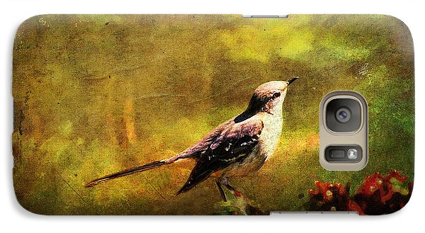 Mockingbird Galaxy S7 Case - Mockingbird Have You Heard... by Lianne Schneider
