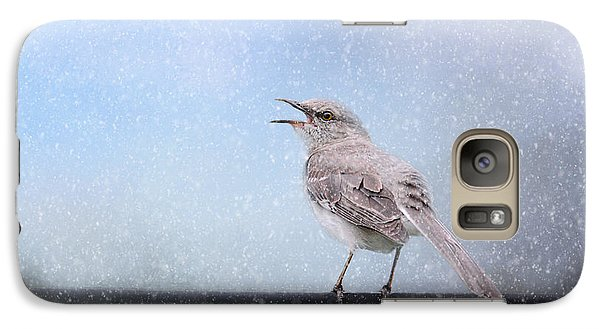 Mockingbird In The Snow Galaxy S7 Case