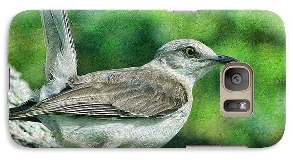 Mockingbird Galaxy S7 Case - Mockingbird Pose by Deborah Benoit