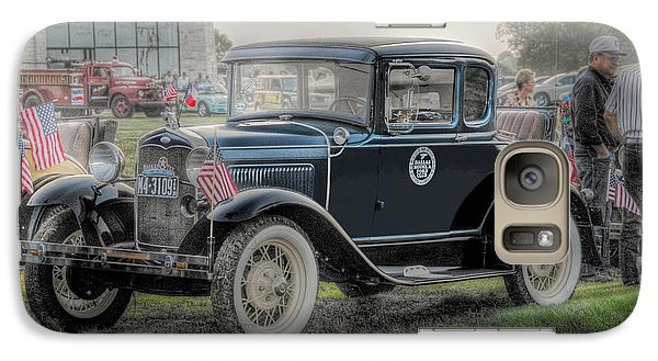 Galaxy Case featuring the photograph Model A Ford  by Dyle   Warren