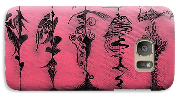 Galaxy Case featuring the painting Tribute To Mr. R Lauren by James Lanigan Thompson MFA