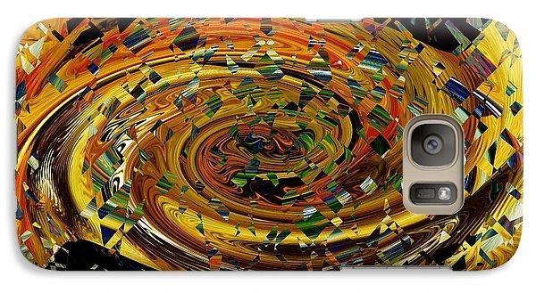 Galaxy Case featuring the digital art Modern Art II by rd Erickson