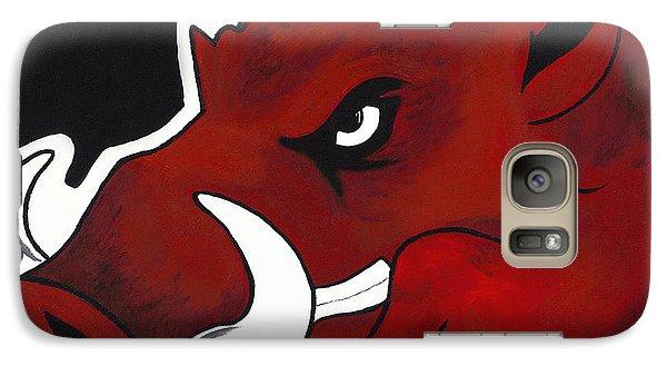 Modern Hog Galaxy Case by Jon Cotroneo