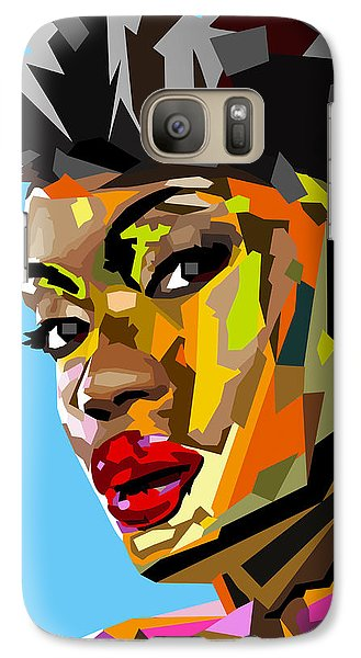 Galaxy Case featuring the digital art Modern Woman by Anthony Mwangi
