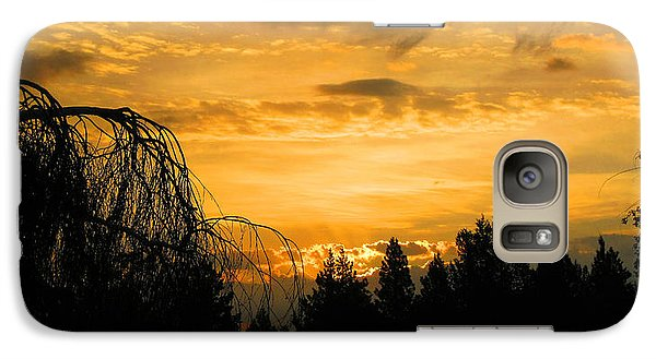 Galaxy Case featuring the photograph Modoc Sunrise by Jennifer Muller