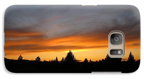 Galaxy Case featuring the photograph Modoc Sunset by Jennifer Muller