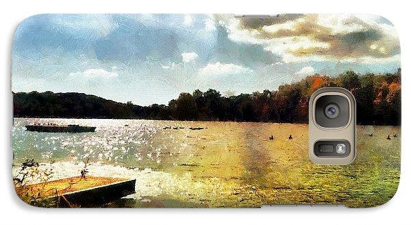Mohegan Lake Gold Galaxy S7 Case