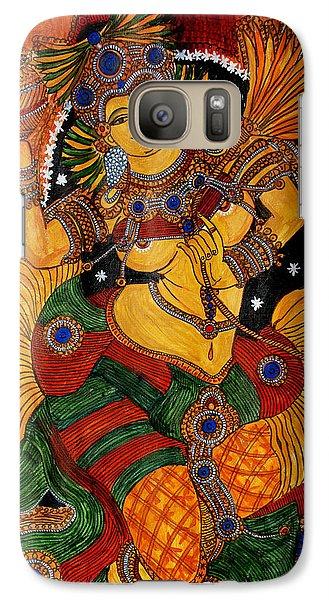 Galaxy Case featuring the painting Mohini by Saranya Haridasan