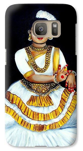 Galaxy Case featuring the painting Mohiniyattam by Saranya Haridasan