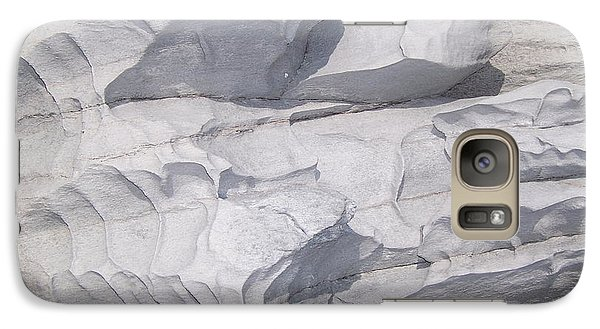 Galaxy Case featuring the photograph Molded Rocks by Sheila Byers