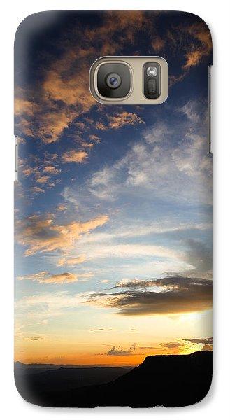 Mollogon Rim Twilight Galaxy S7 Case