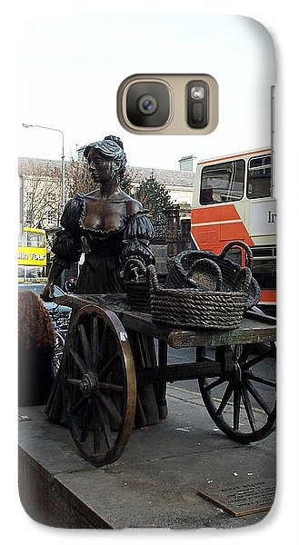 Galaxy Case featuring the photograph Molly Malone by Barbara McDevitt