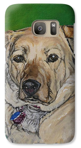 Galaxy Case featuring the painting Molly by Wendy Shoults
