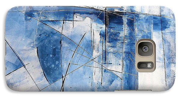 Galaxy Case featuring the painting Moment Of Inertia by Buck Buchheister