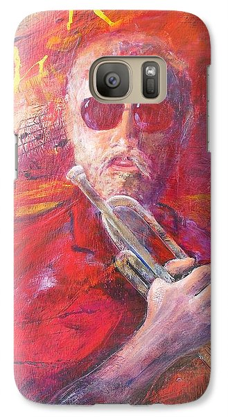 Galaxy Case featuring the painting Moment Of Inspiration  by John  Svenson