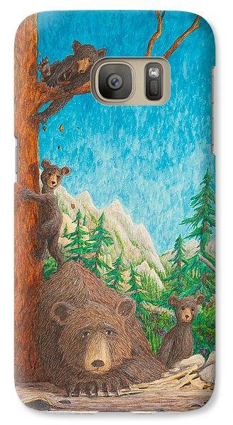 Galaxy Case featuring the painting Momma by Matt Konar