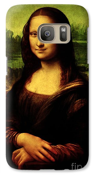 Galaxy Case featuring the painting Mona Lisa by Da Vinci