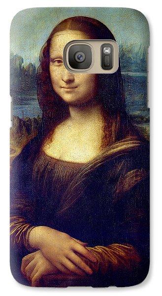 Galaxy Case featuring the painting Mona Lisa by Karon Melillo DeVega