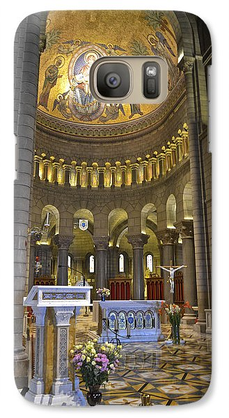 Galaxy Case featuring the photograph Monaco Cathedral by Allen Sheffield