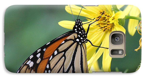 Galaxy Case featuring the photograph Monarch Beauty by Doris Potter